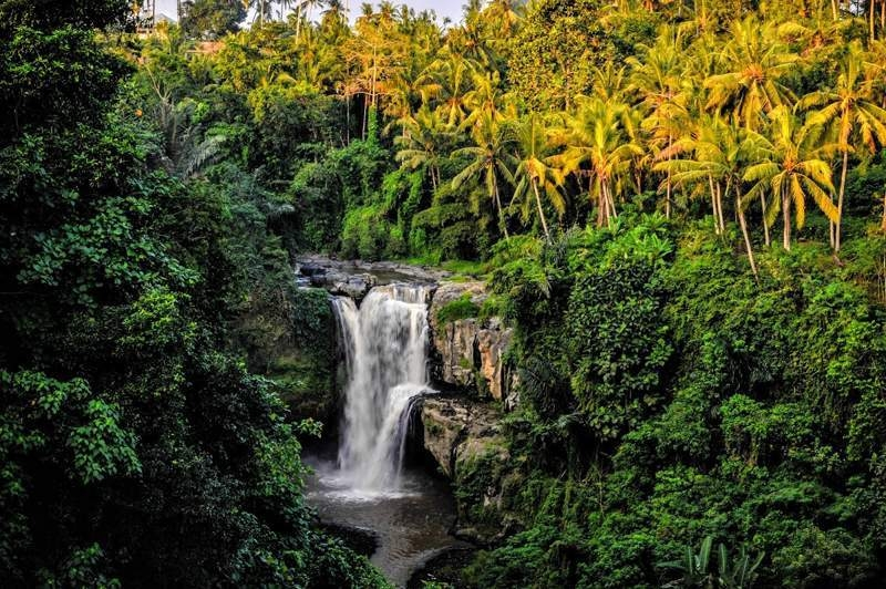 Bali hidden waterfall, is Bali too touristy?
