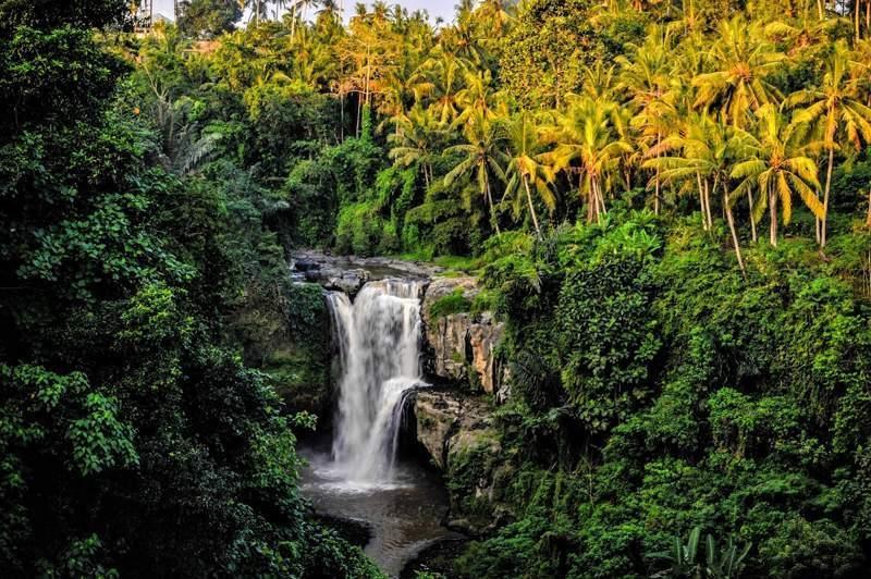 Bali hidden waterfall, is Bali too touristy?