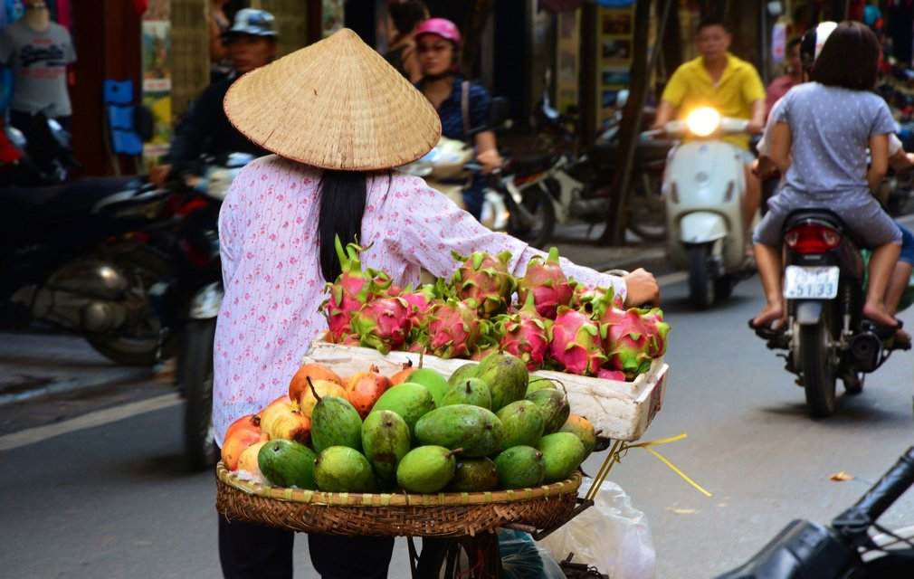 Vietnamese street view. Vietnam cambodia holiday packages